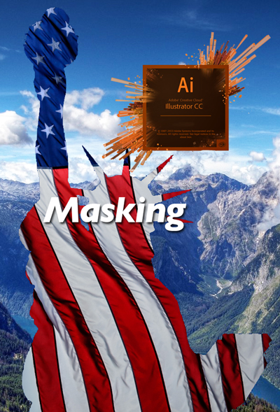 Masking Images in Adobe Illustrator