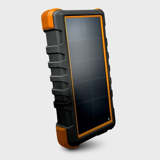 Bigfoot 24,000mAh Solar Power Bank with high-speed USB-C