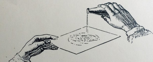 pouring a plate