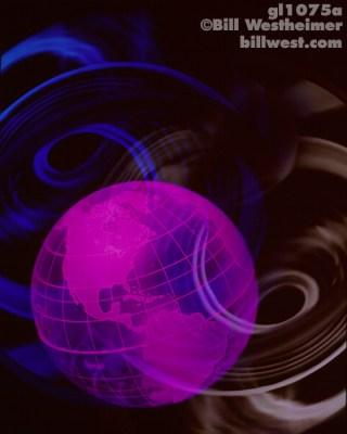 Magenta Globe