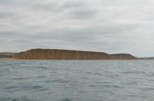 The cliffs beyond West Bay
