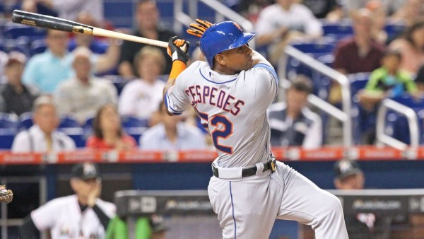 Cespedes hit .310 off righties and .223 off lefties in 2015