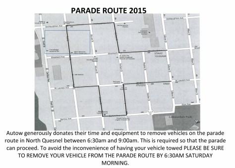Parade Route 2015