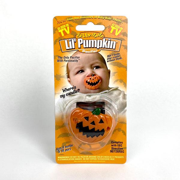 Lil Pumpkin Pacifier