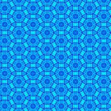 blue computerised pattern