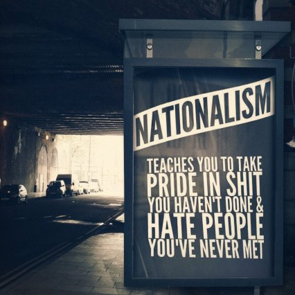 The negative force that is nationalism