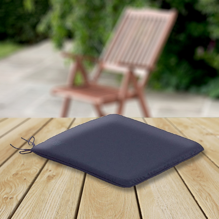 garden chair cushions best for gaming cc seat pad navy blue