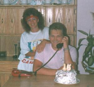 Maggy et moi à 15 ans