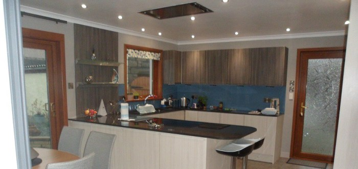 image for Kitchen Design, Supply And Installation Of The Knebworth Avola Flint  range. By Billy Walker Joinery Services Ltd, Fraserburgh, Aberdeenshire.