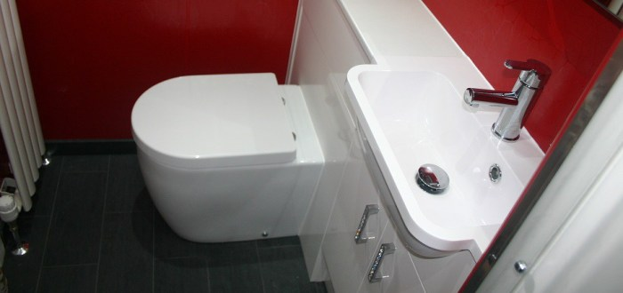 image for Bathroom Design, Supply And Installation Of The Slimline White Gloss  range. By Billy Walker Joinery Services Ltd, Fraserburgh, Aberdeenshire.