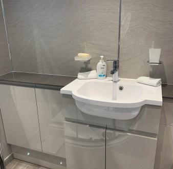 image for Bathroom Design, Supply And Installation Of The Bathroom Shower Room 3. By Billy Walker Joinery Services Ltd, Fraserburgh, Aberdeenshire.