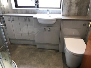 image for Bathroom Design, Supply And Installation Of The Shower Room 2. By Billy Walker Joinery Services Ltd, Fraserburgh, Aberdeenshire.