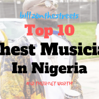 Top 10 Richest Musician in Nigeria | Latest Ranking 2020