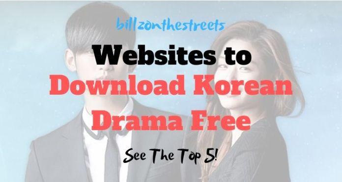 Download Korean Dramas Free