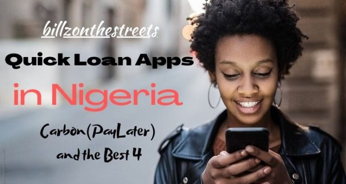 Quick Loan Apps in Nigeria