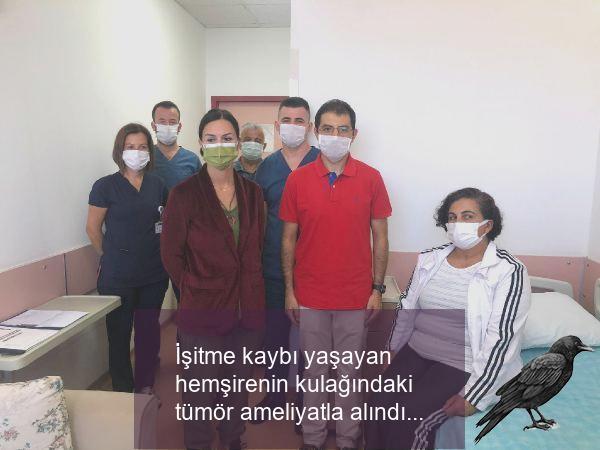 isitme kaybi yasayan hemsirenin kulagindaki tumor ameliyatla alindi 2 2k1dnzlf
