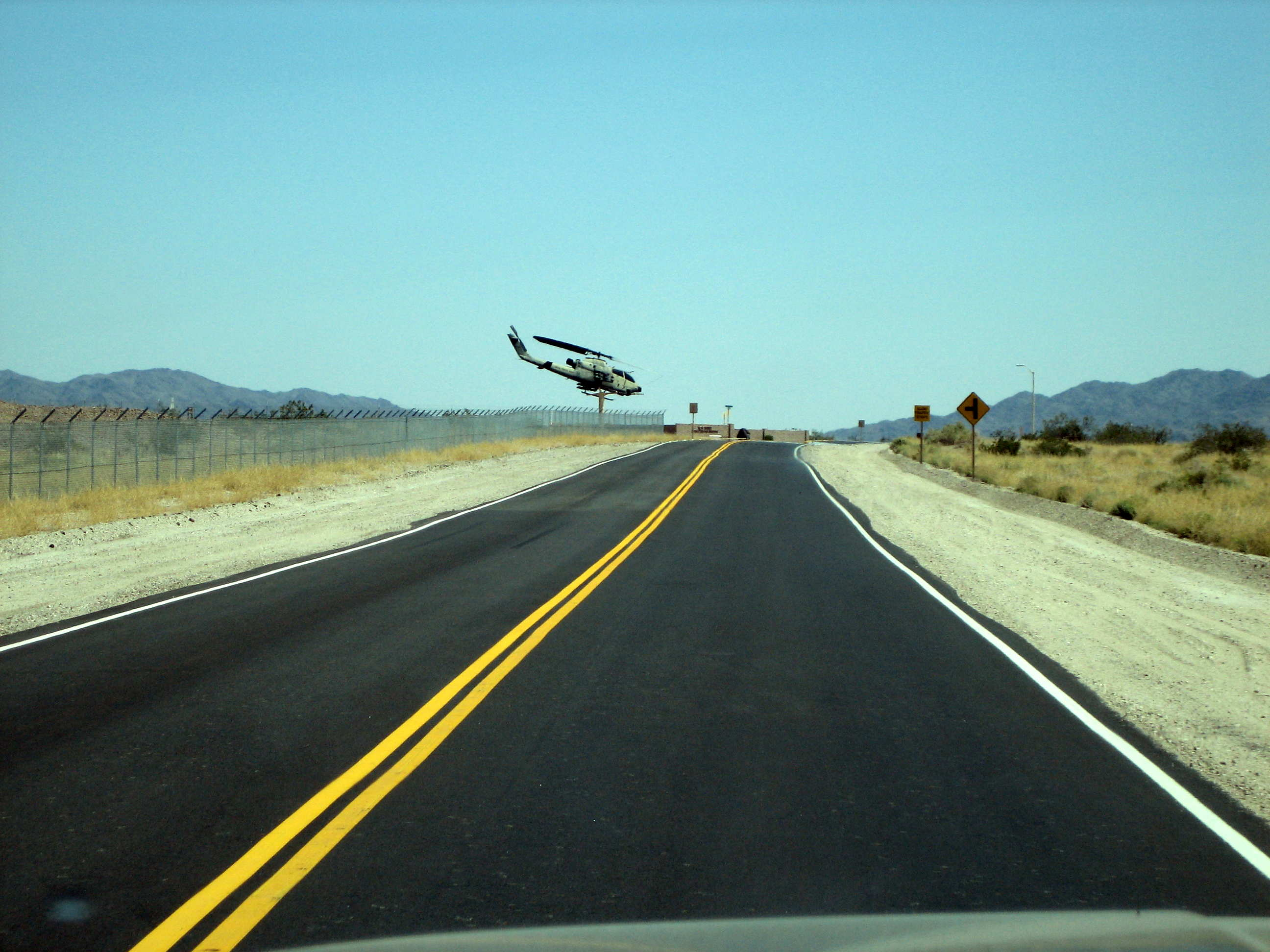 US Army Yuma Proving Ground Entrance on Left?