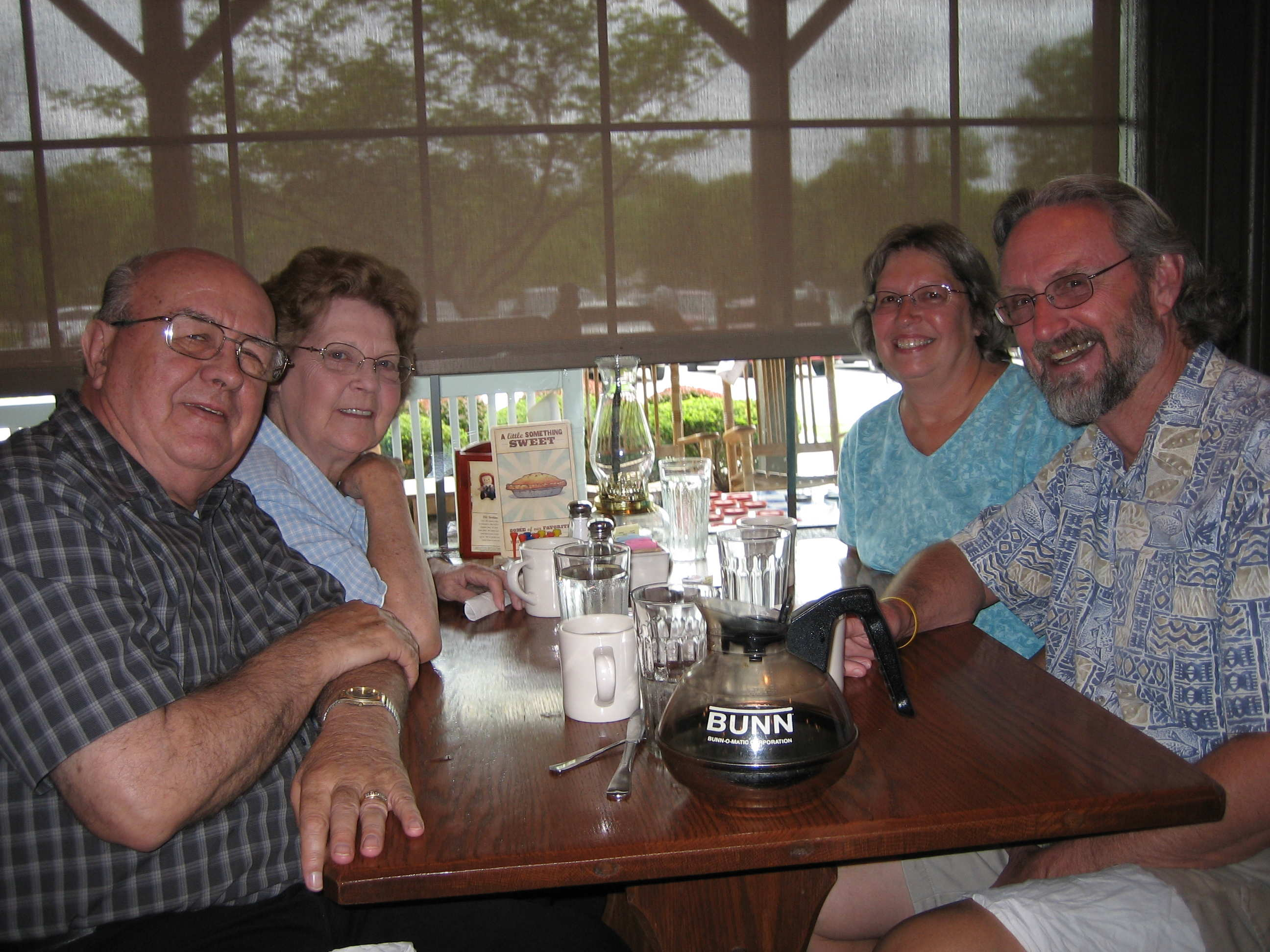 (left to right) Chester, JoAnn, Kathy, Bill