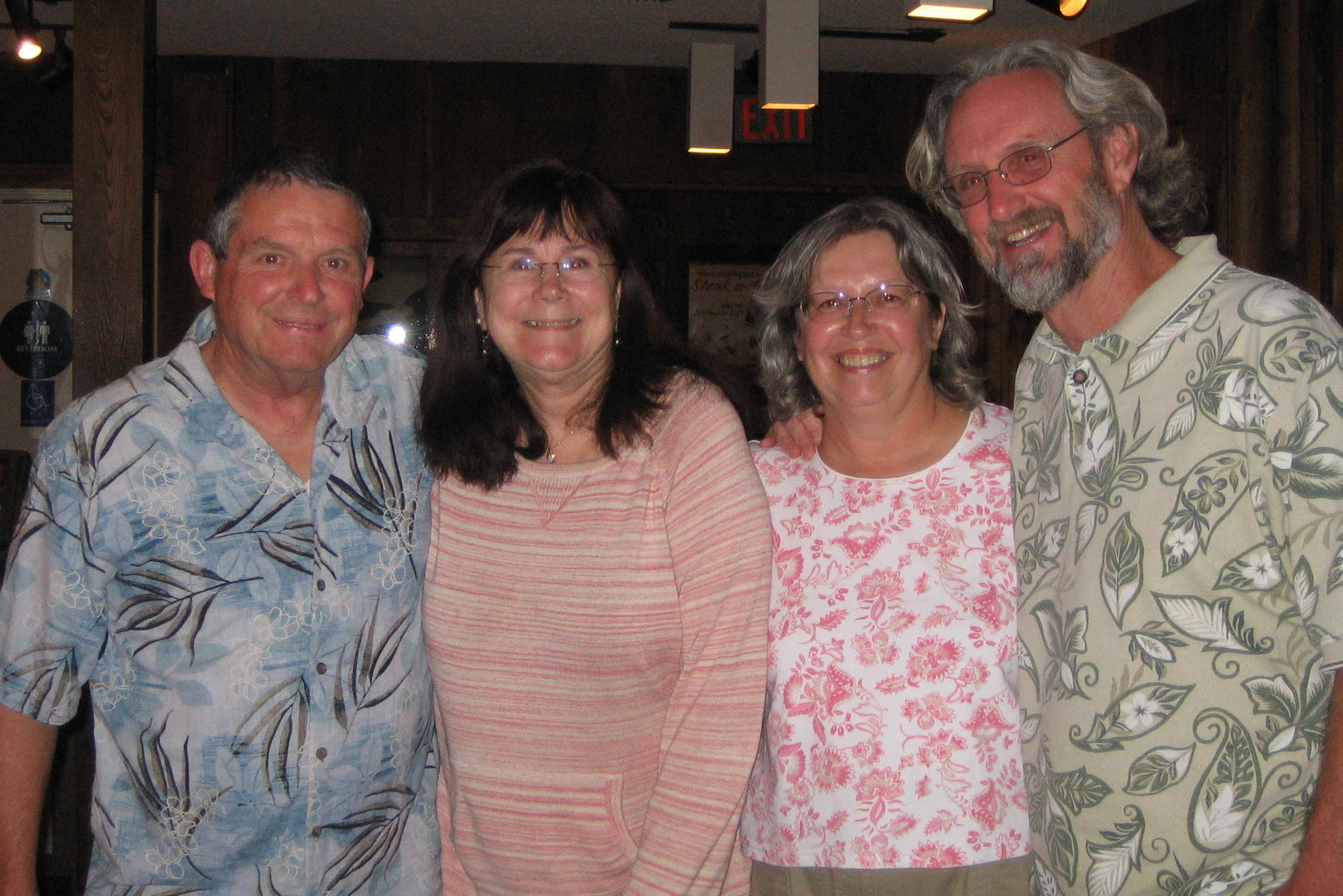 Left to Right:  Rob, Susan, Kathy, Bill