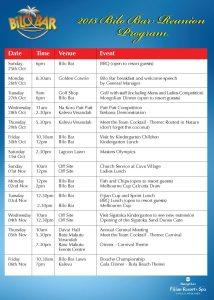 Program 2015 214x300 - 2015 BILO BAR REUNION APPROVED PROGRAM