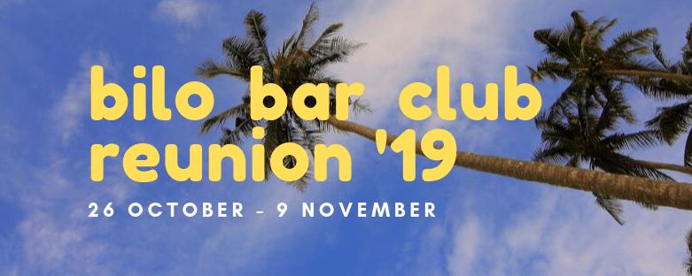 2019 Bilo Bar Club Reunion – Official Program