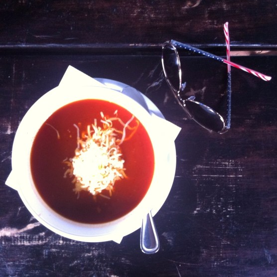 Slovakian tomato soup