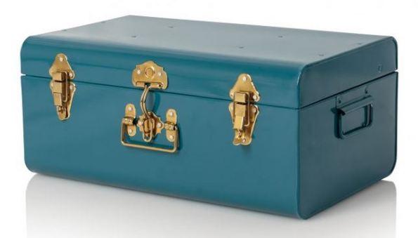Medium Metal Storage Suitcase