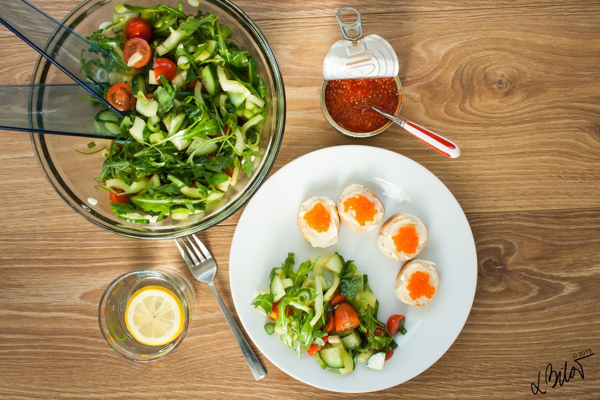 Šalát po celý rok: Rýchly a zdravý recept