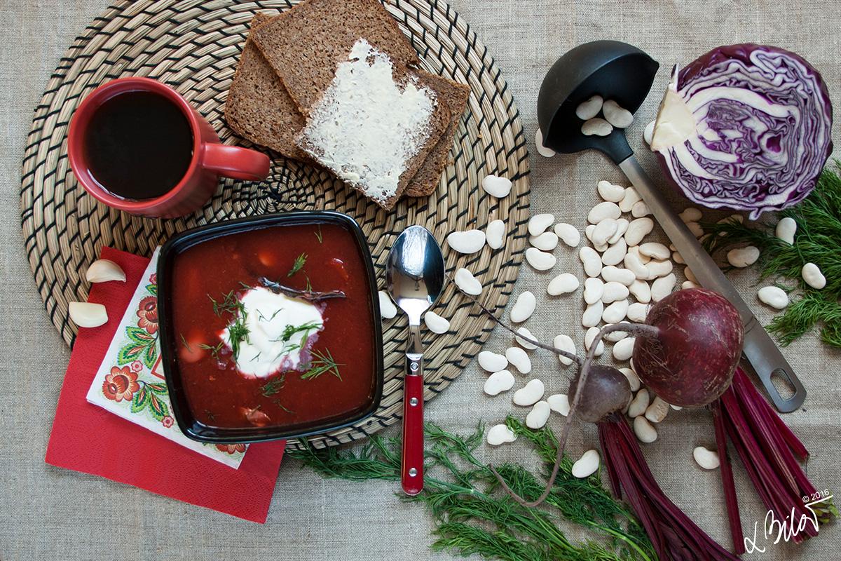 Rodinný recept: Ukrajinský boršč
