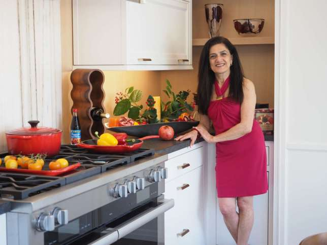 Bana Choura in her Art of the Table Kitchen