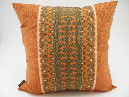Hol Lboeuk Ikat Cushion Cover