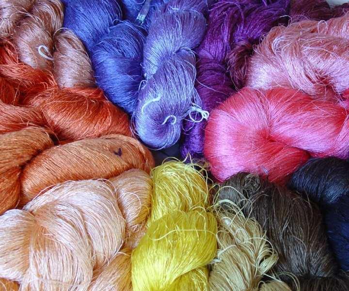 Natural silk fabric - Samatoa