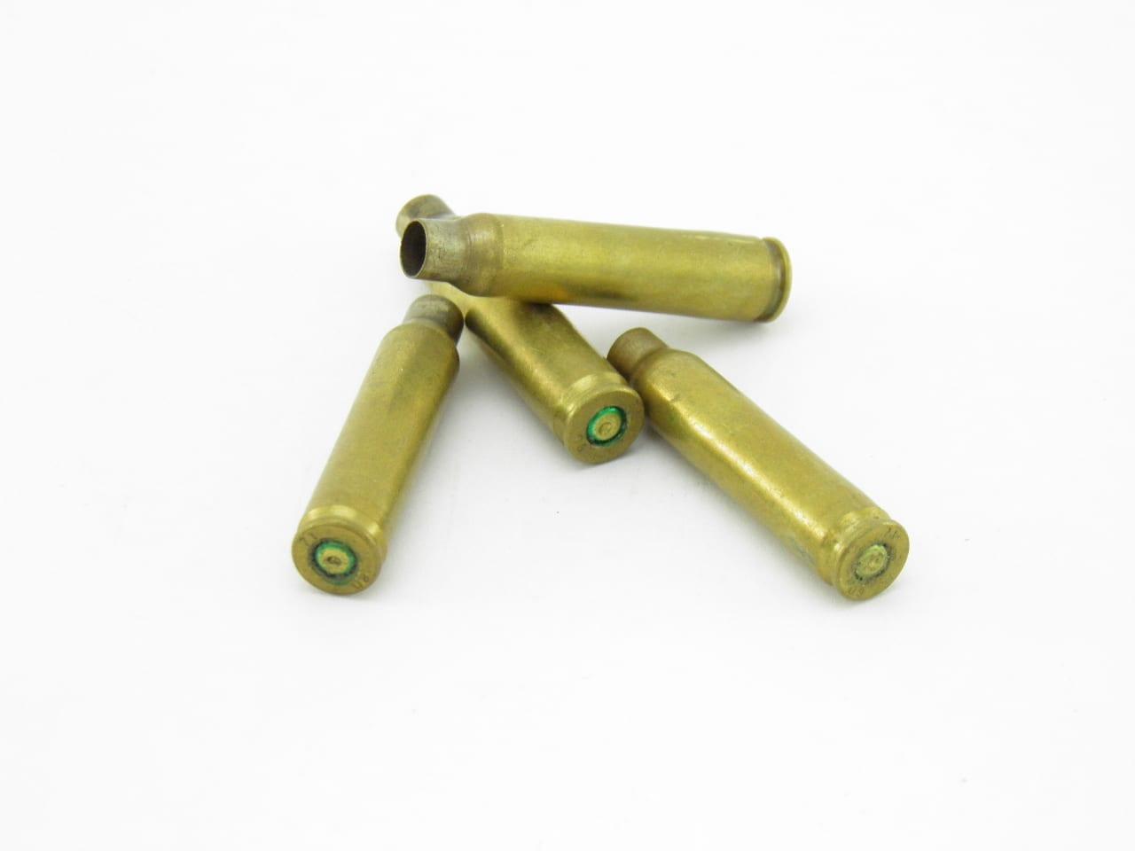 Cartouches vides d'armes à feu - laiton recyclé