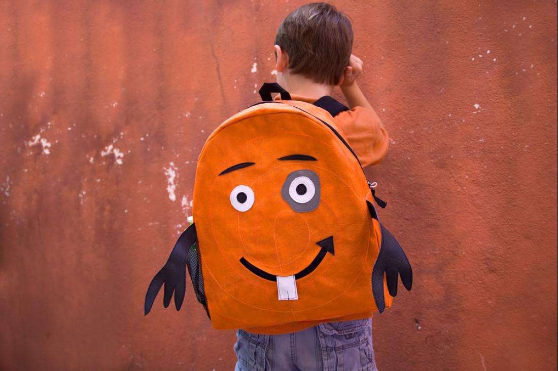 Collection enfants - sac à dos éthique - Petite dent