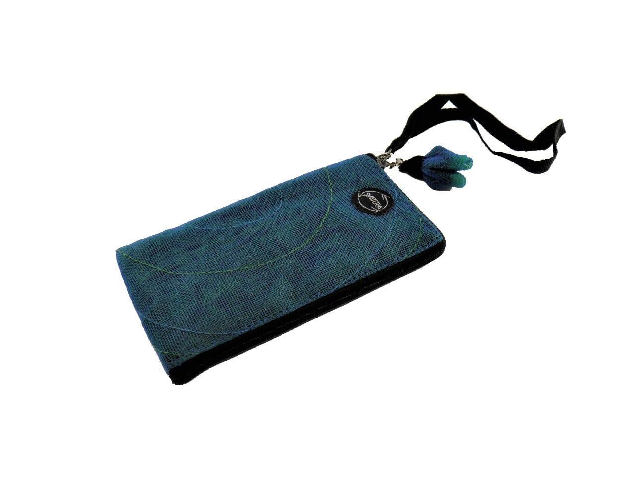 La Pochette Cellulaire Éthique - iPhone5 (P41LN) - Bleu pétrole