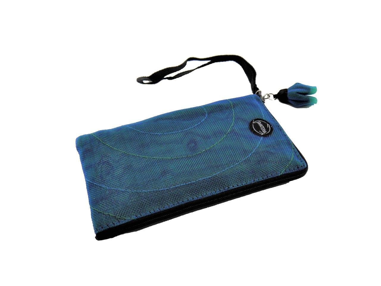 La Pochette Cellulaire Éthique - Samsung (Note2) - Bleu pétrole