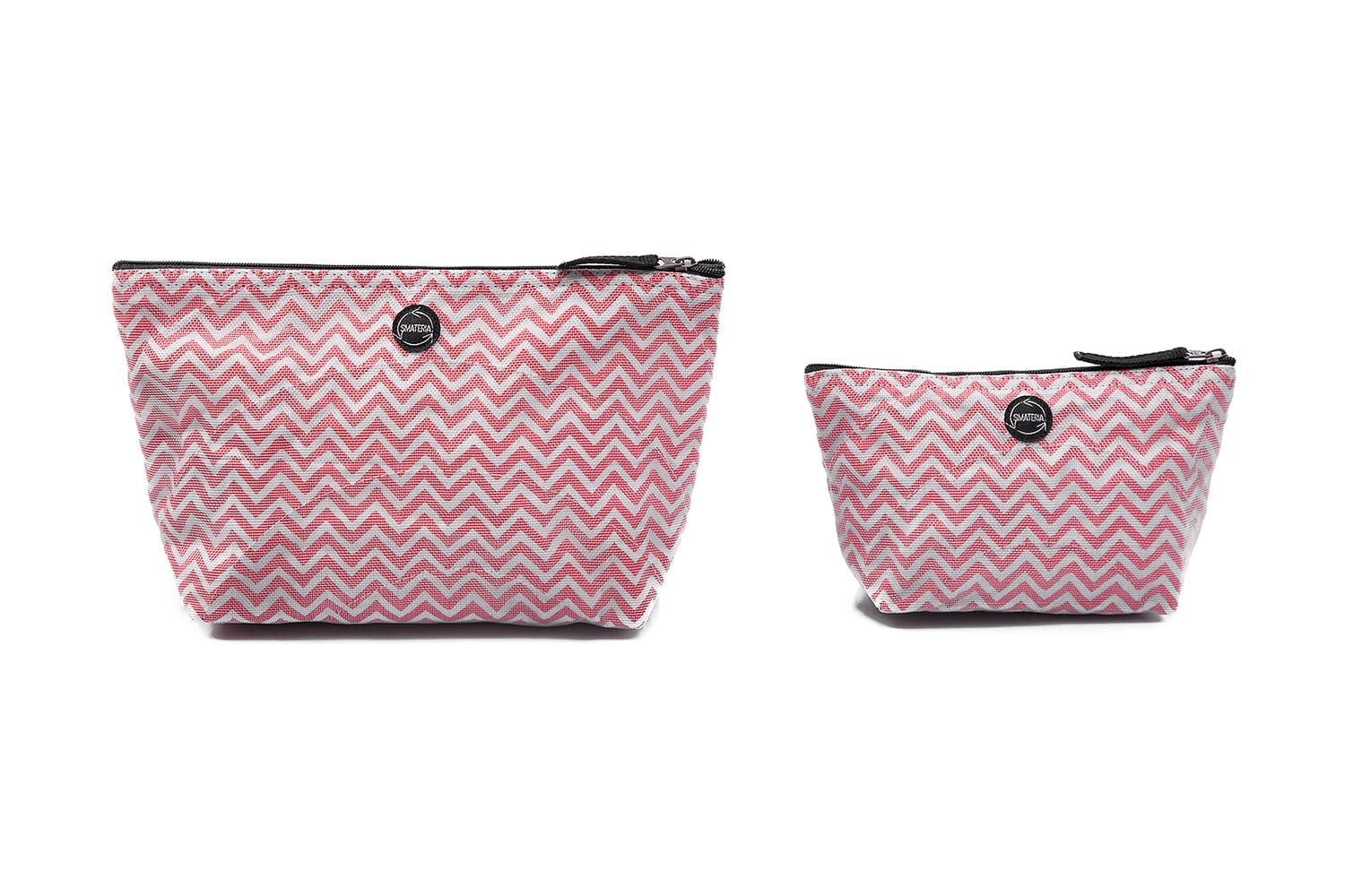 Nick - Ethical Vanity Case - Large - Small - Red Chevron
