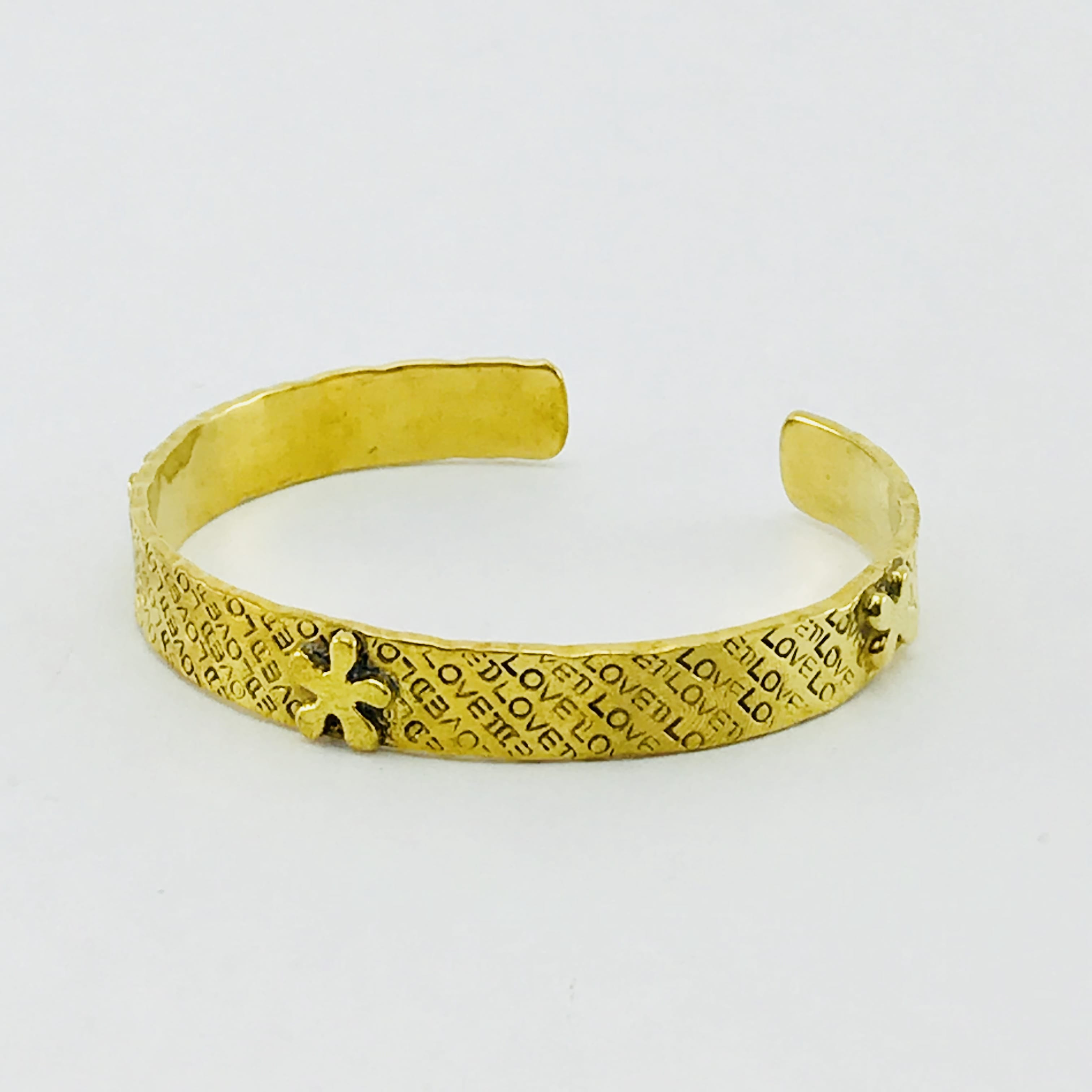 Le Bracelet Étoile - laiton recyclé