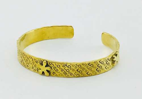 Star Bracelet - Recycled Brass