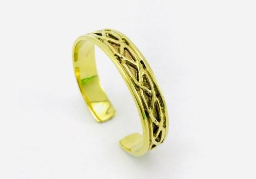 Braided Bracelet - Recycled Brass