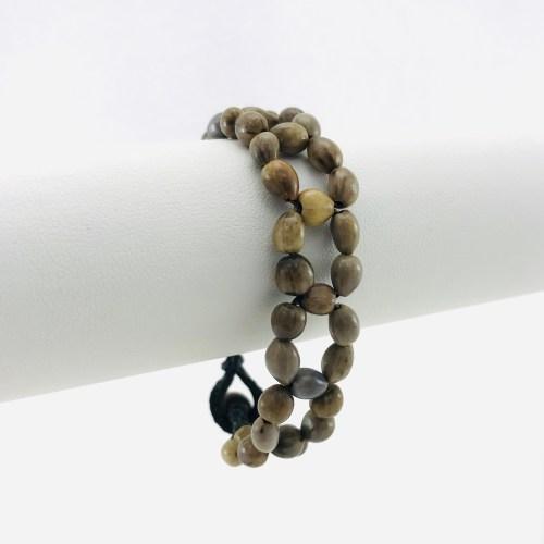 Le Fleur  – Bracelet Graines Naturelles