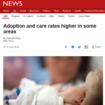 Postcode lottery in child protection and adoption