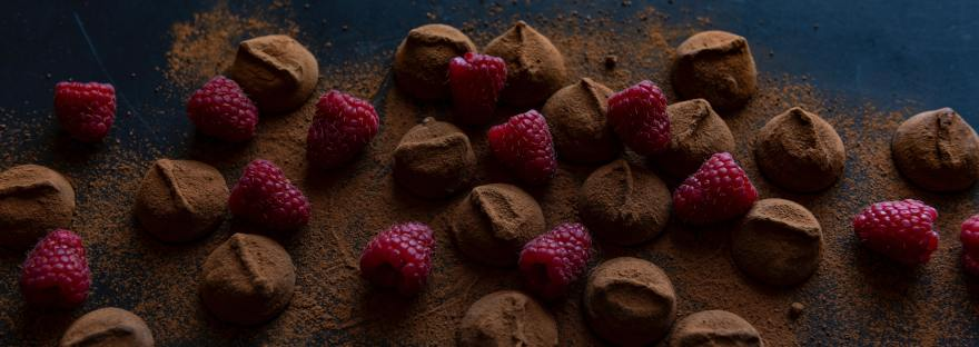 Raspberries & Chocolate by Joanna Kosinska