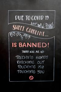 Due to Covid Sweet Caroline is banned