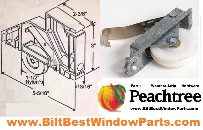Peachtree Screen Door Rollers Patio Door Repair Parts Screen Amp Patio Door Wheels BiltBest