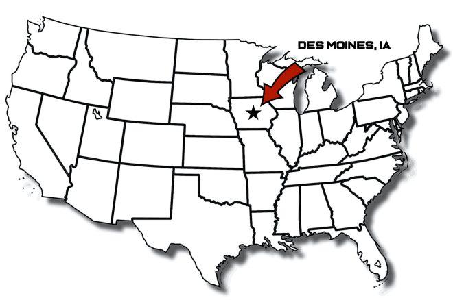 US Map of DSM
