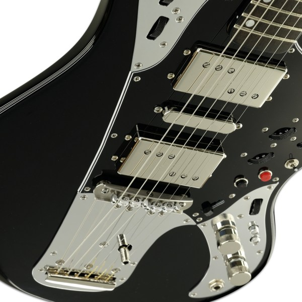 Body Detail, Gloss Black/Silver Accent Relevator + Effects