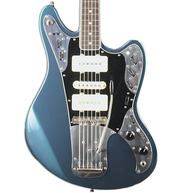 Front Detail, Lake Placid Blue Metallic Relevator + Effects