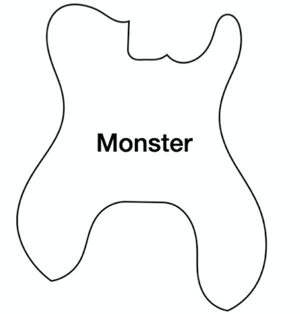 Monster ESG Pickguard