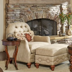 Tufted Chair And Ottoman Kitchen Stuff Plus Dining Chairs Vestibule Occasional Biltmore